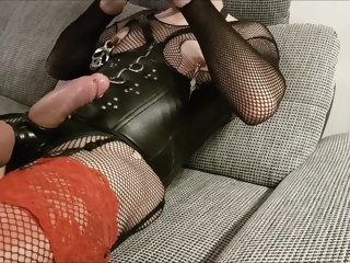 crossdresser Crossdresser CD Boy Sissy Bitch Jerk off cd