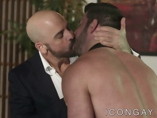 muscular Muscular gay Billy Santoro rimmed and fucked by Adam Russo gay