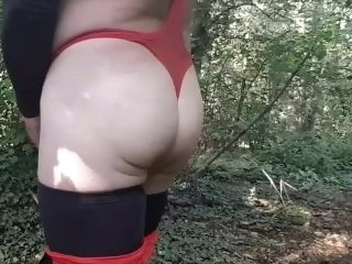 horny Horny Play In The Woods play