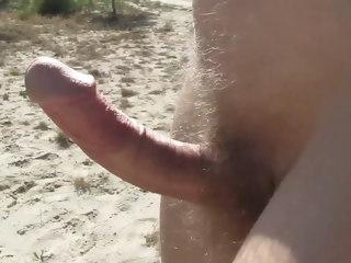 naked Naked walk hard cock walk