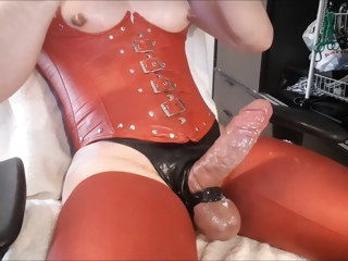 Hot Sissy Pig Boy JERK OFF