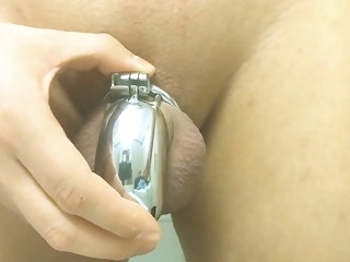 finally Finally! Permanent Chastity - Jenna Chaste permanent